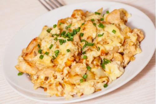 وصفات بيض للغداء - طريقة عمل شكشوكة البيض بالقرنبيط