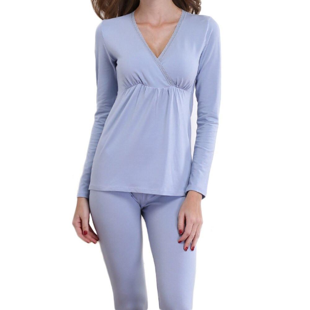 ملابس النفاس بالصور - بيجامات ولادة