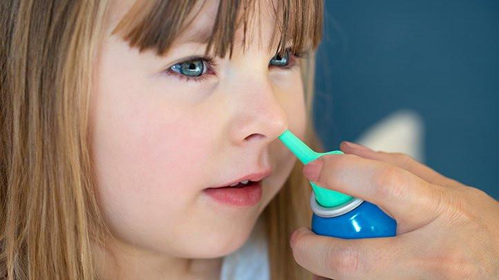تنظيف الجيوب الأنفية - تنظيف الأنف للأطفال