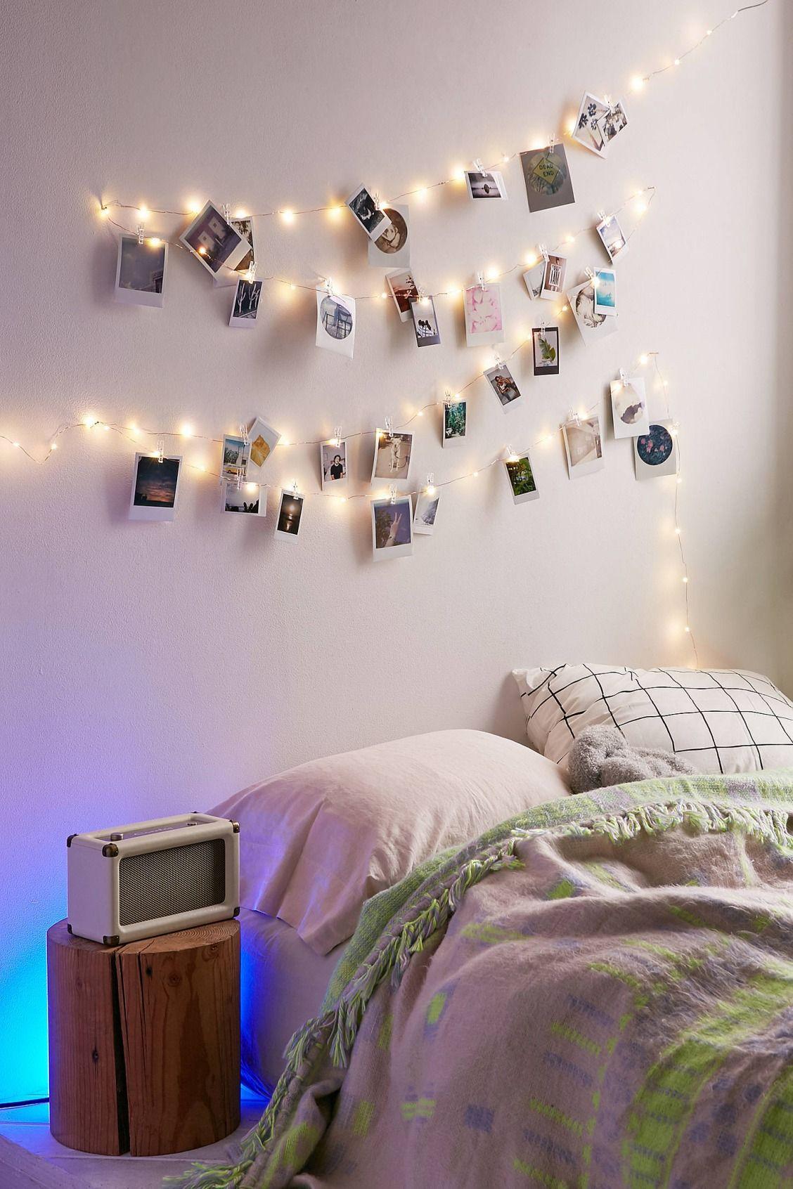 أفكار لتعليق الصور على الحائط - الحبال المعلقة
