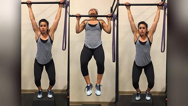 تمارين رياضية لزيادة الوزن - تمرين العقلة