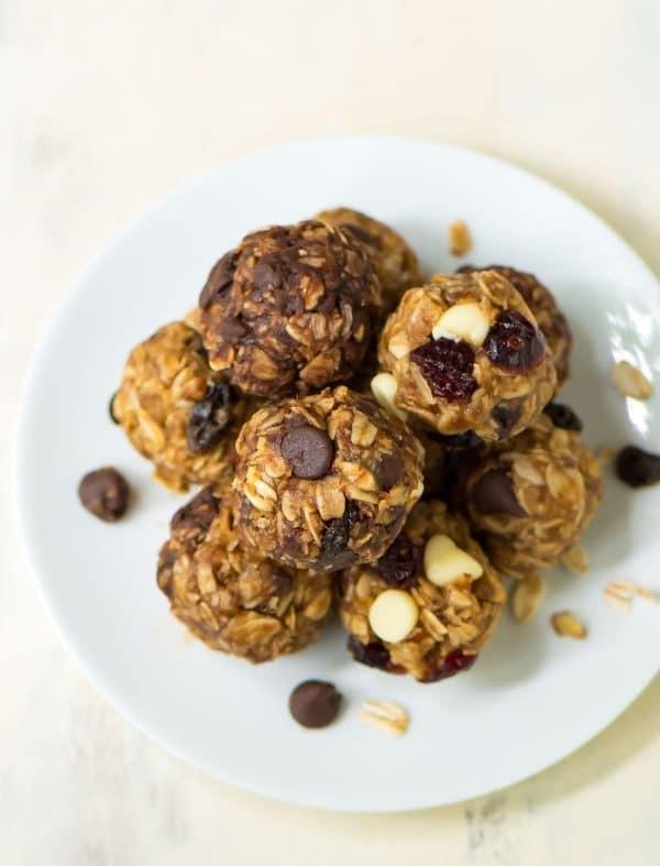 حلويات خاصة لمرضى الكوليسترول - طريقة عمل كرات الطاقة