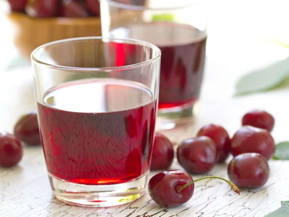 عصائر التي تخفض الكوليسترول - طريقة عمل عصير الكرز الحامض