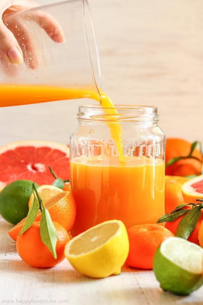 عصائر التي تخفض الكوليسترول - طريقة عمل عصير الحمضيات