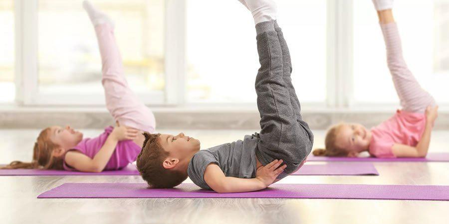 رياضة للأطفال في المنزل - تمرين البيلاتس