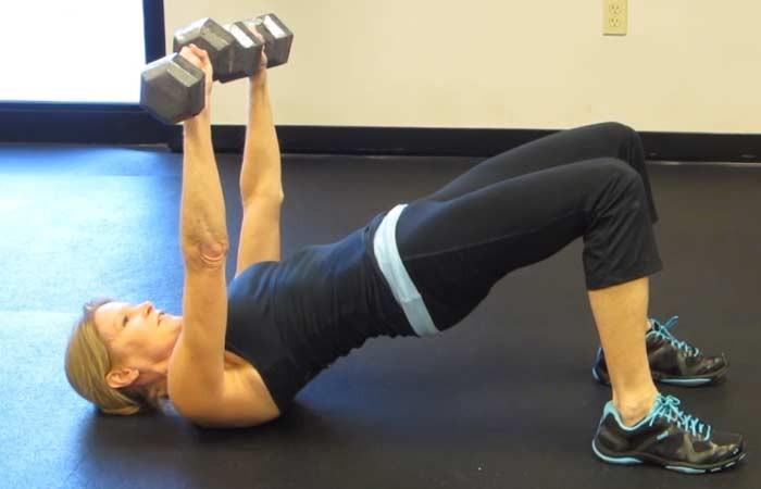 تمارين لتكبير الصدر - تمرين رفع الأثقال لتكبير الصدر