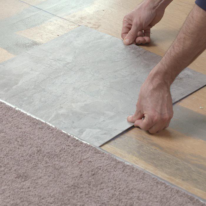 تغطية البلاط القديم - ألواح بلاط PVC