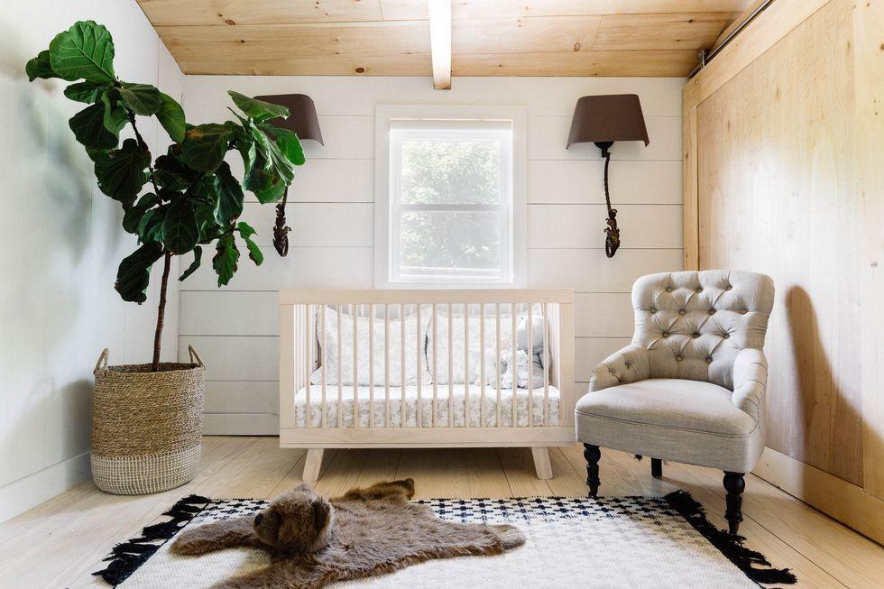 أفكار غرفة نوم الرضع - تصميم المزرعة لغرف الرضيع