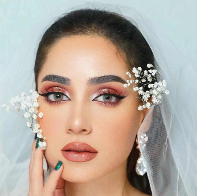 مكياج خليجي ناعم للعروس