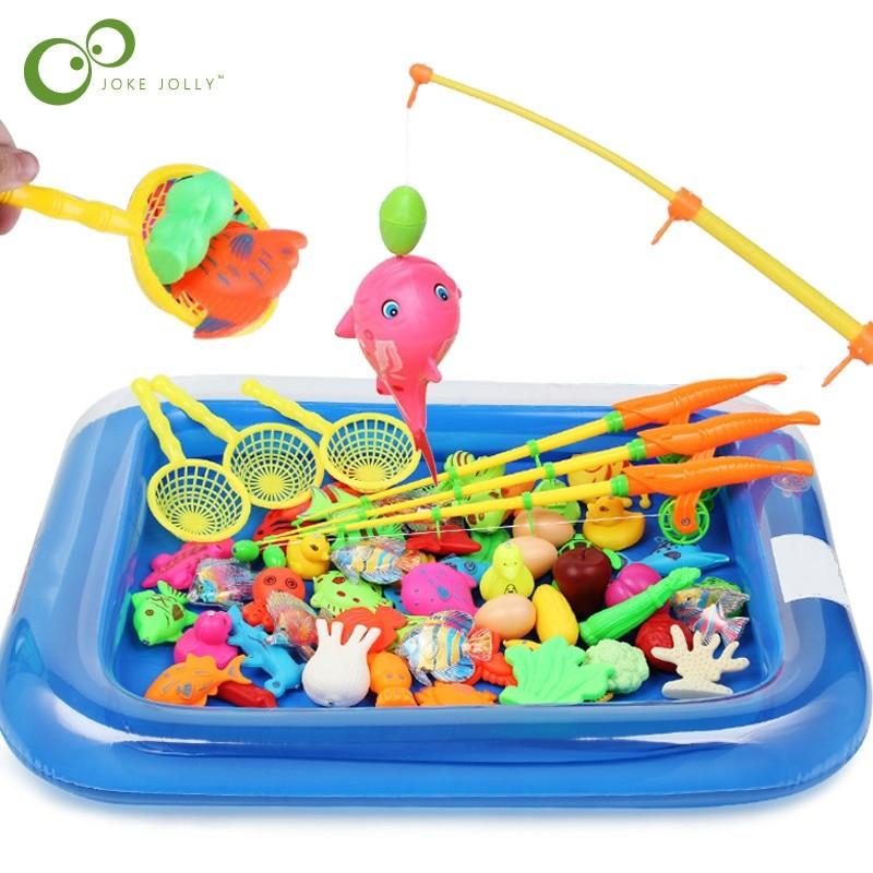 ألعاب أطفال سنة ونصف - لعبة صيد السمك