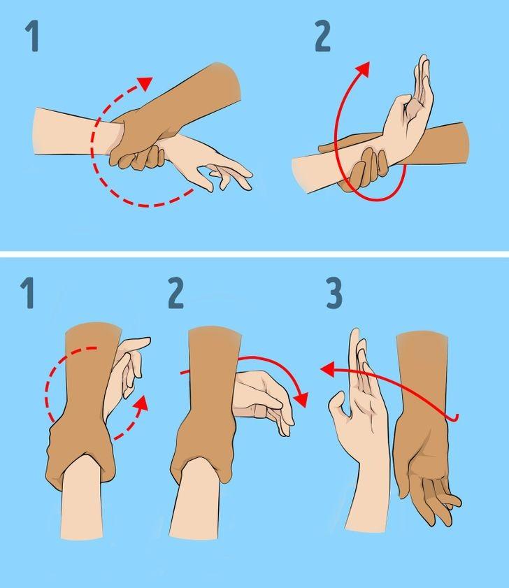 طرق الدفاع عن النفس للبنات - تحرير قبضة اليد