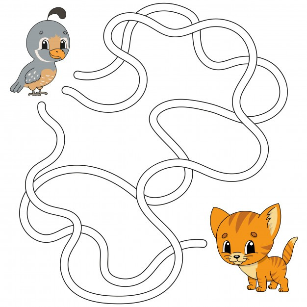 ألعاب ذكاء للأطفال 5 سنوات - لعبة المتاهة