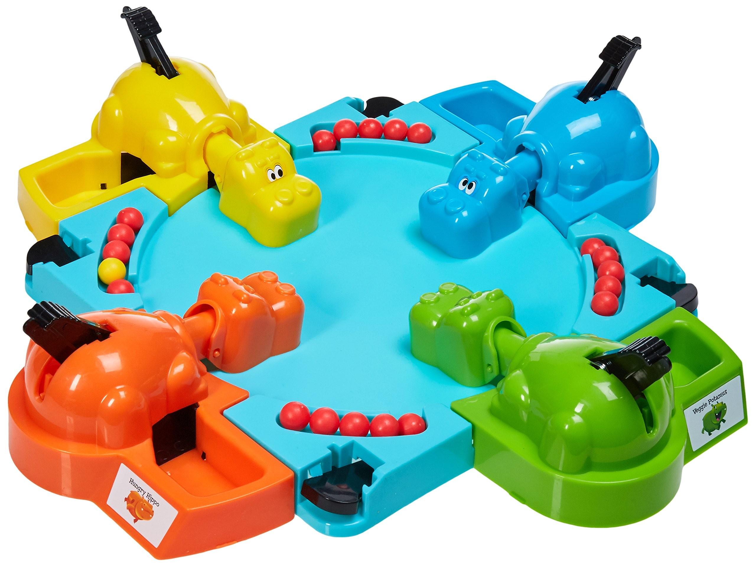 ألعاب لأطفال التوحد - لعبة فرس النهر الجائع