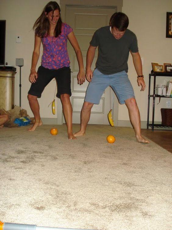 افكار مسابقات عائلية - لعبة الموزة