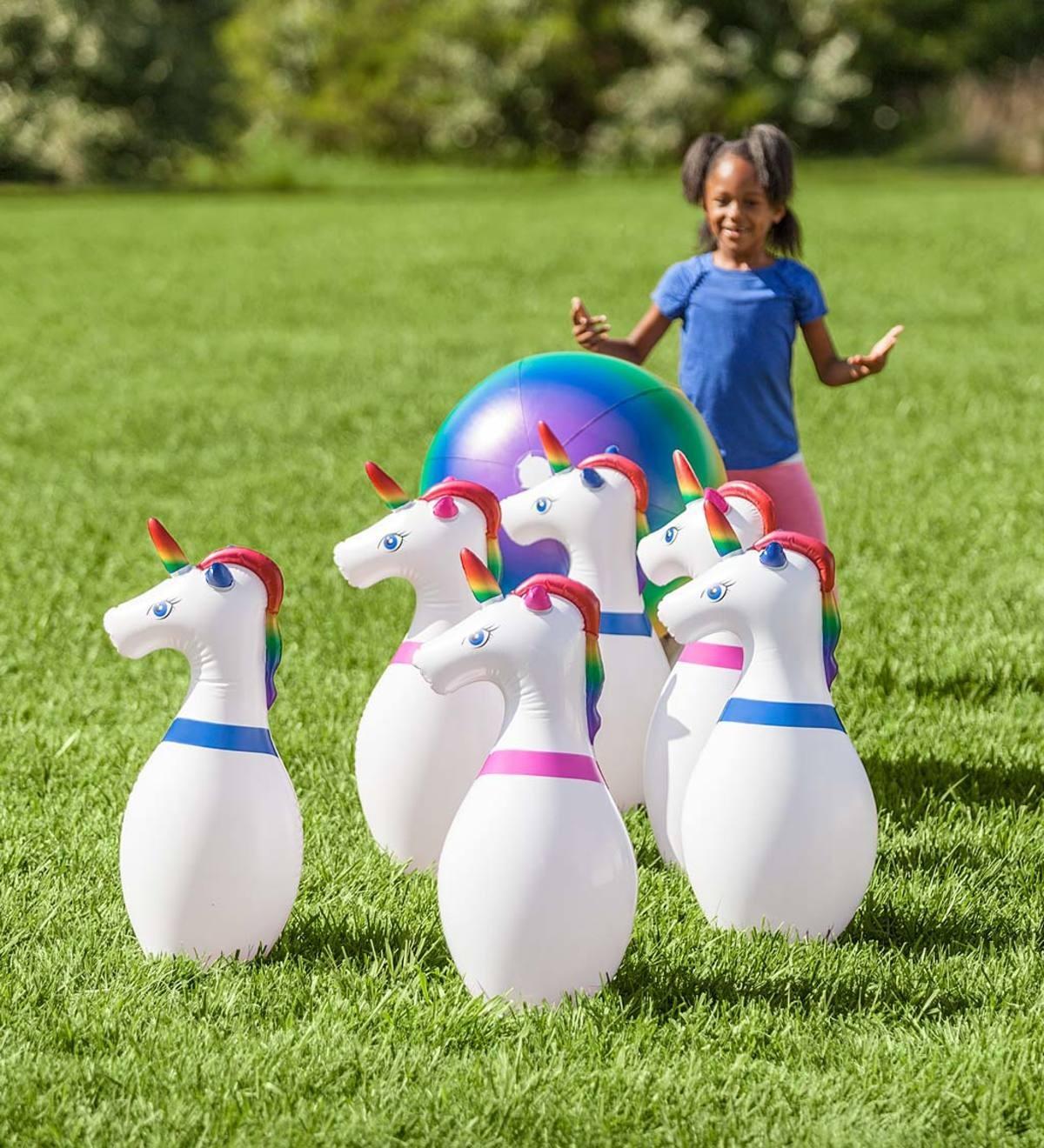 افكار مسابقات عائلية - البولينج العملاق