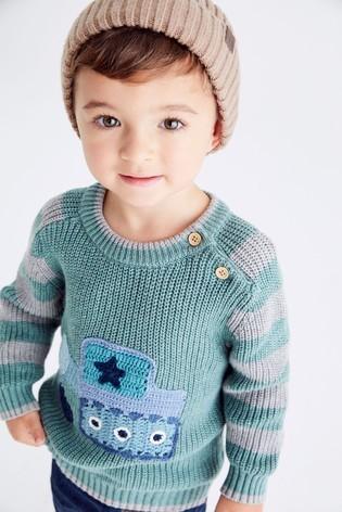 ملابس أطفال شتوي تركي 2021 - بلوفر شتوي للأولاد