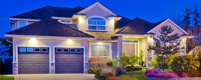 إنارة سور المنزل - إنارة سور المنزل بسبوتات رئيسية