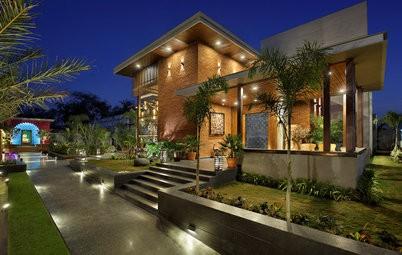 إنارة سور المنزل - سبوتات الإضاءة المدمجة