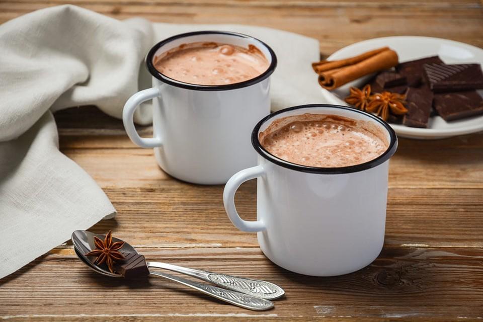 وصفات بالشوكولاتة - مشروب الشوكولاتة الساخنة