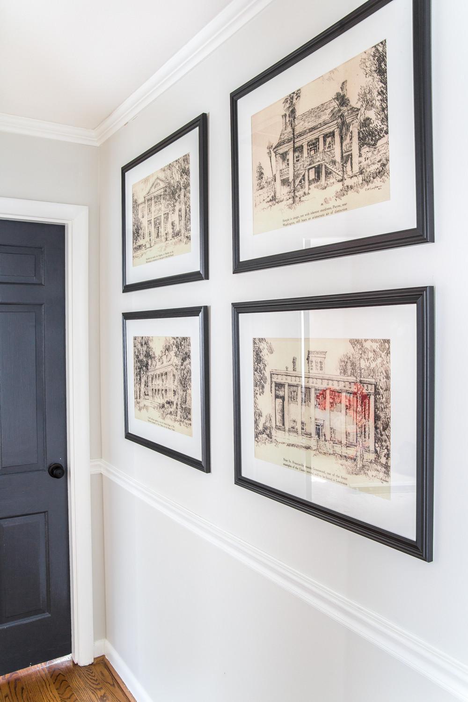 تزييم مممرات المنزل - لوحات ضخمة