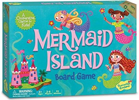 ألعاب أطفال 5 سنوات - مملكة حورية البحر الهادئة