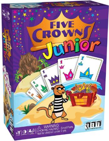 ألعاب أطفال 5 سنوات - لعبة التيجان الخمسة