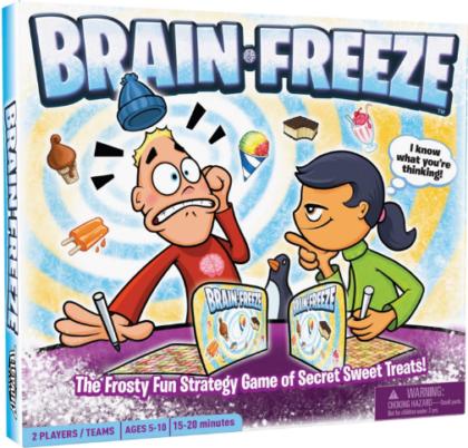 ألعاب أطفال 5 سنوات - لعبة تجميد المخ