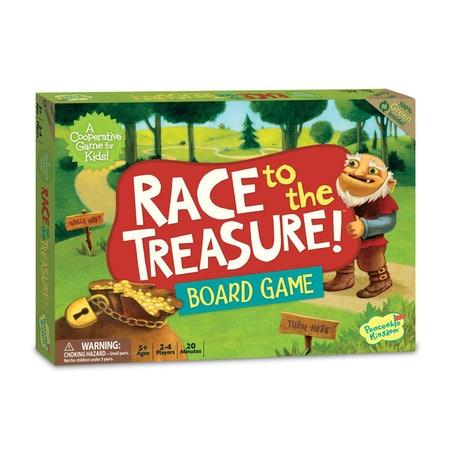 ألعاب أطفال 5 سنوات - لعبة السباق إلى الكنز