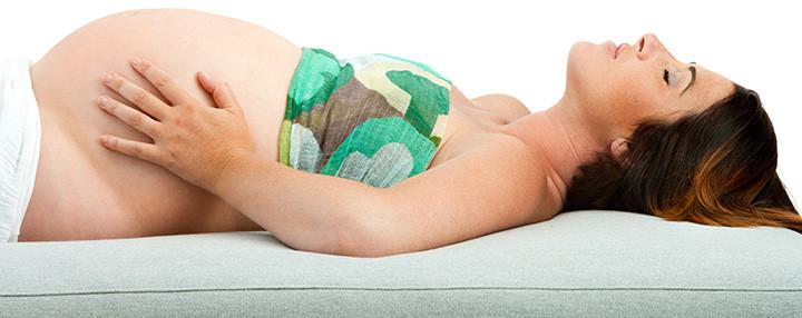 تمارين التنفس للحامل - تنفس البطن