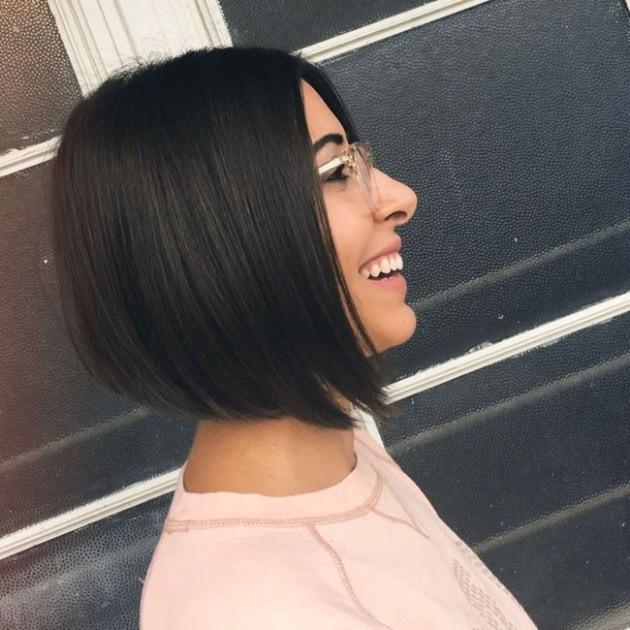 أنواع قصات الشعر وأسماؤها للنساء - قصة البوب