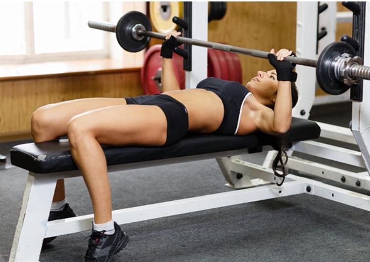 تمارين رياضية لزيادة الوزن - جهاز رفع الأثقال