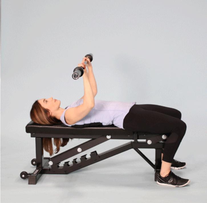 تمارين رياضية لزيادة الوزن - جهاز رقم الوزن الخفيف