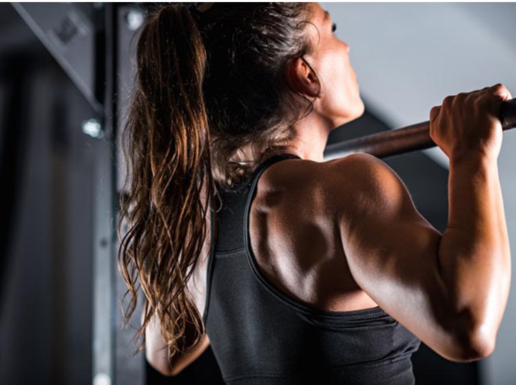 تمارين رياضية لزيادة الوزن - رفع الجسم لاعلى