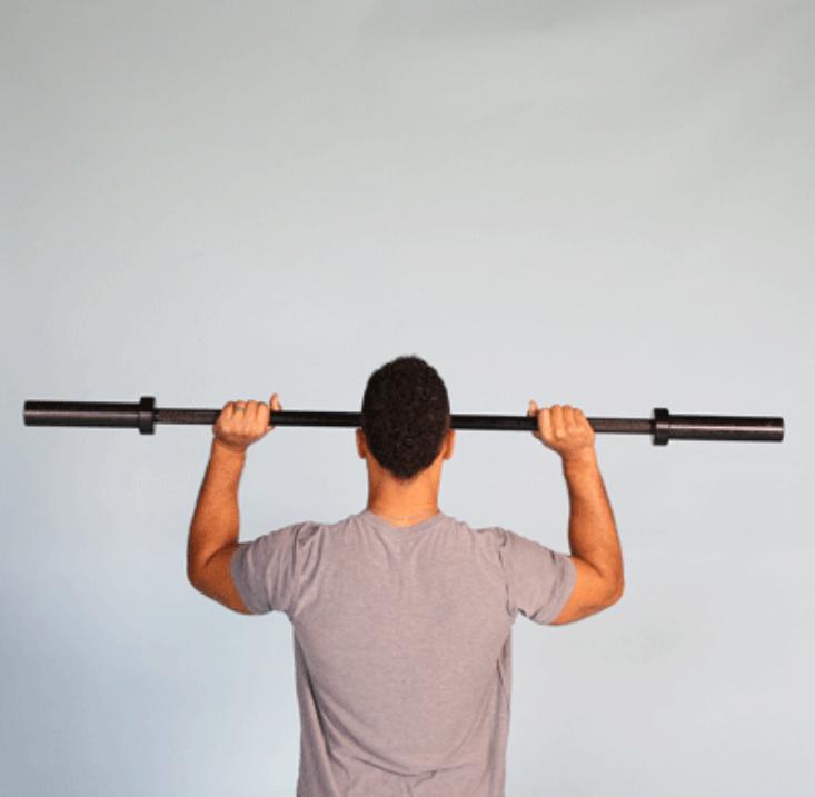 تمارين رياضية لزيادة الوزن - رفع أثقال خفيفة