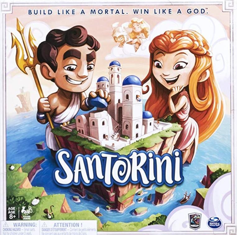العاب ذكاء للأطفال 9 سنوات - لعبة سانتوريني