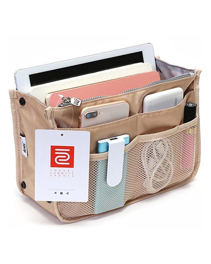 الطريقة الصحيحة لترتيب شنطة السفر - حقيبة يد متعددة الجيوب