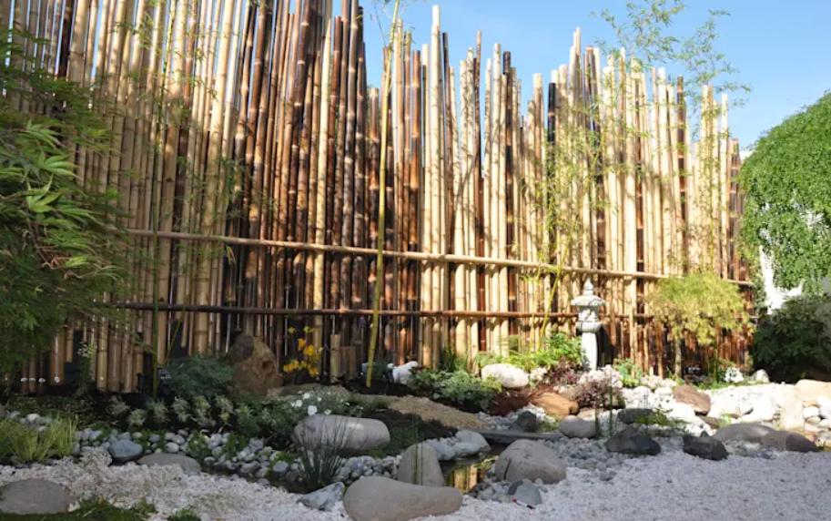 تصميم حديقة المنزل - حجارة كبيرة الحجم