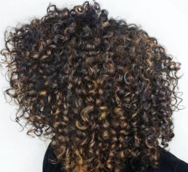 كيرلي للشعر القصير-الشعر الاشعث