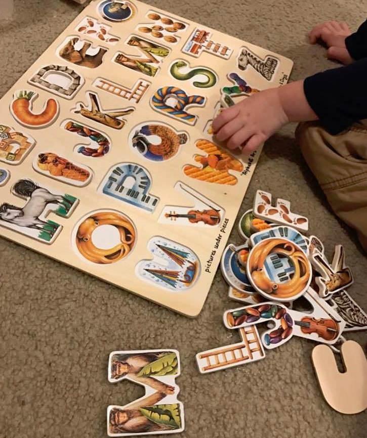العاب اطفال عمر سنتين - لعبة لتعليم الحروف