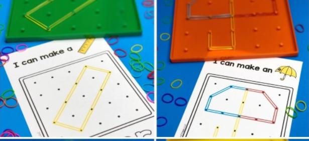 العاب اطفال عمر سنتين - لعبة جيو بورد