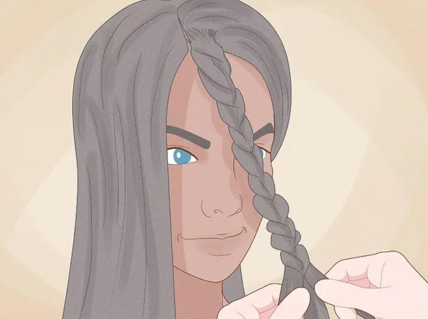 طريقة عمل الشعر الكيرلي - الضفائر