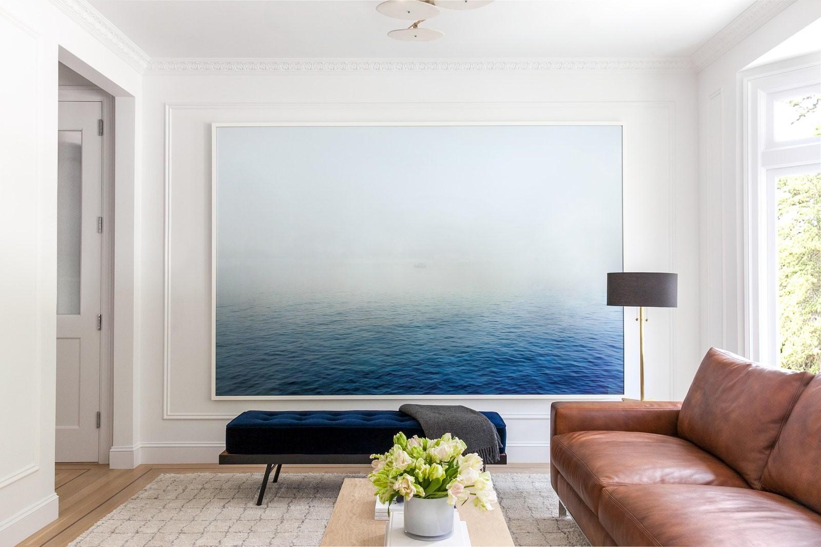 أفكار ديكور للحائط - لوحة كبيرة