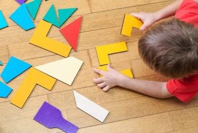 العاب تنمية ذكاء الاطفال من عمر سنتين إلى 6 سنوات - البازل