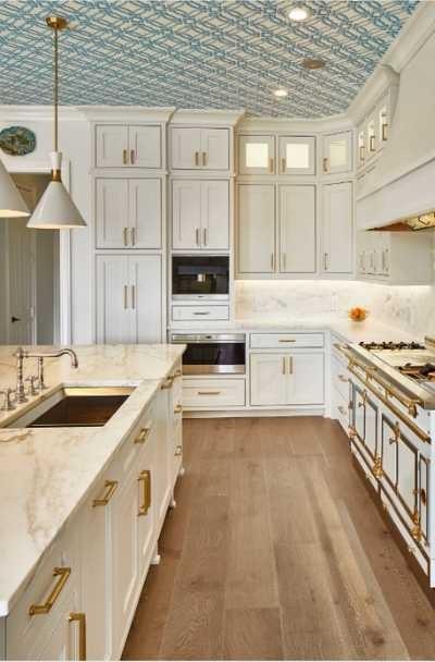 بالصور ديكورات للمطبخ باللون البنفسجي - ورق الحائط