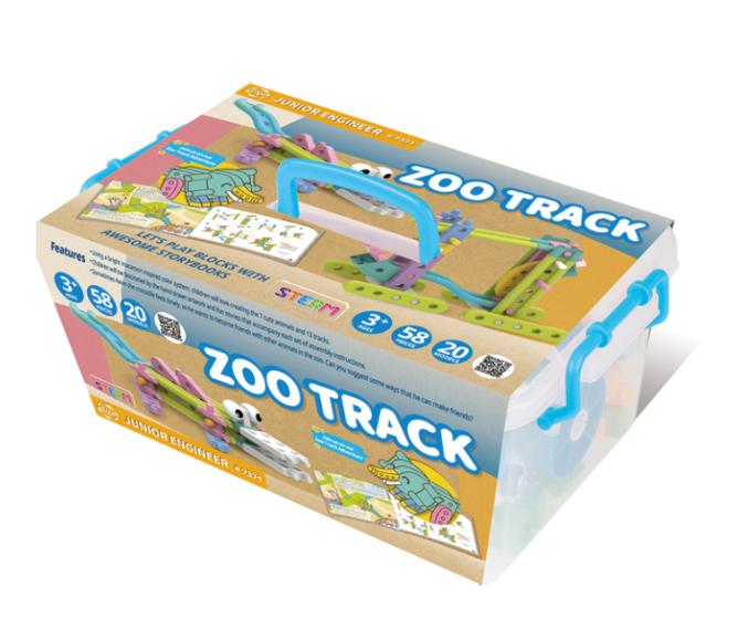 العاب ذكاء للاطفال من عمر سنتين ل 6 سنوات - لعبة زوو تراك