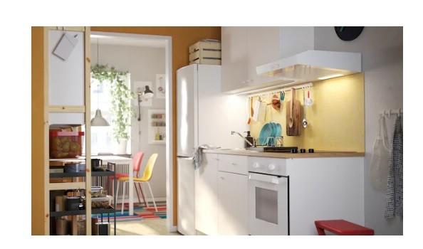 أشكال مطابخ ايكيا - مطبخ للمنازل المشتركة