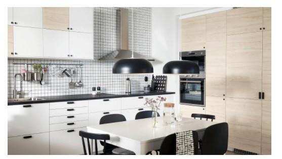 اشكال مطابخ ايكيا - مطبخ متعدد وحدات التخزين