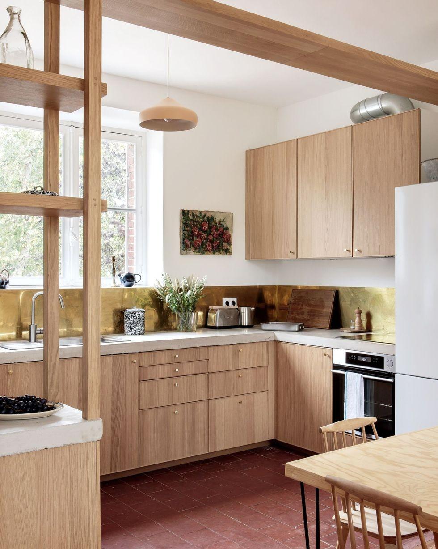 أشكال مطابخ ايكيا - مطبخ خشبي
