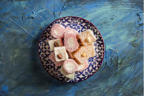 طريقة عمل راحة الحلقوم - أشهر الحلويات التركية