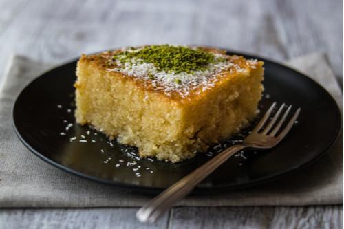 طريقة عمل كيكة الرواني - أشهر الحلويات التركية